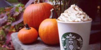 Starbucks:arriva il nuovo menù dedicato alla zucca