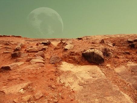 Far crescere le verdure su Marte