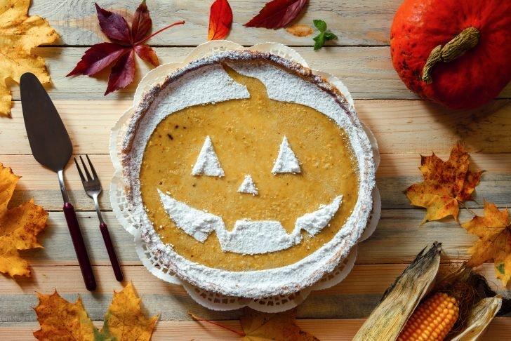 Torta di zucca,Halloween