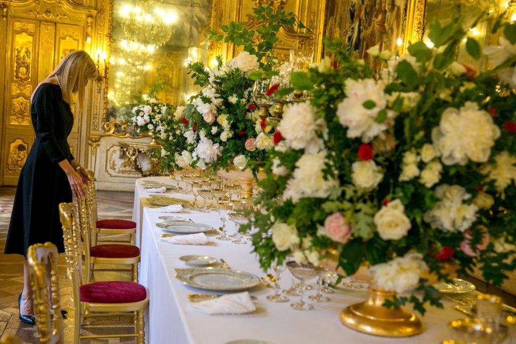 Giorgia Fantin Borghi tavola reale palazzo clerici