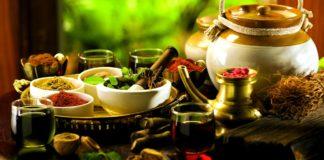 ingredienti per l'Ayurveda