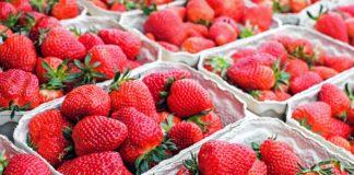 mercato delle fragole