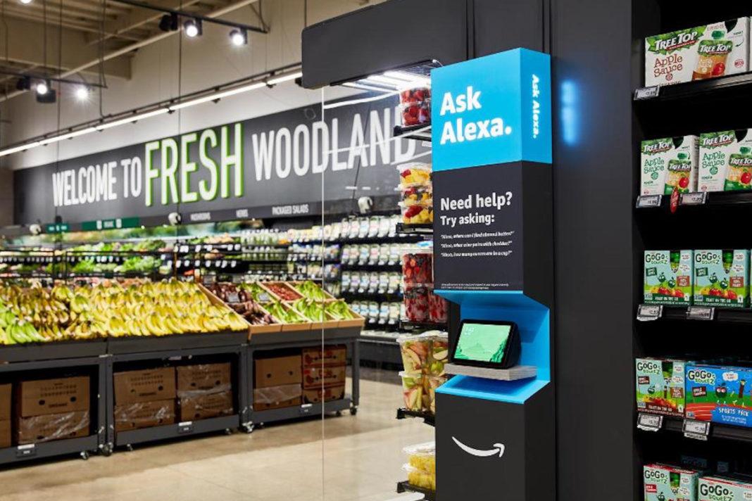 Primo negozio di alimentari Amazon