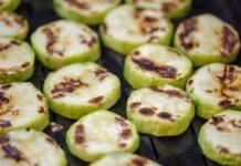insalata di zucchine alla griglia