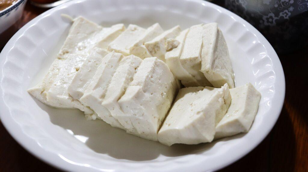 cucinare senza uova tofu