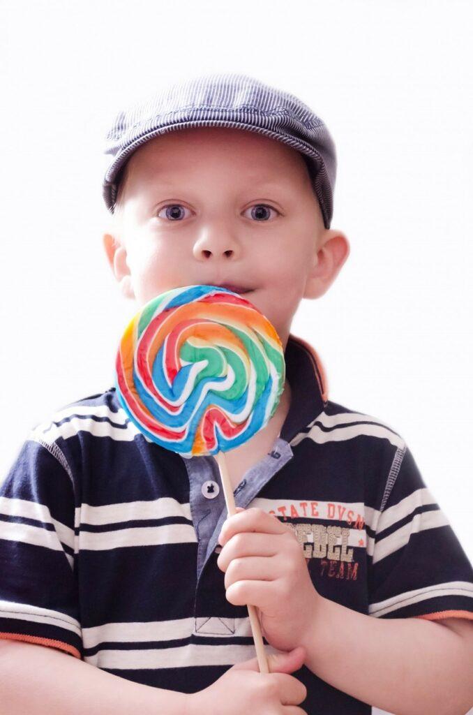 i gusti dei bambini lollipop